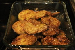 Fried Green Tomato Heart!