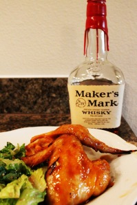 Maple Bourbon Wings